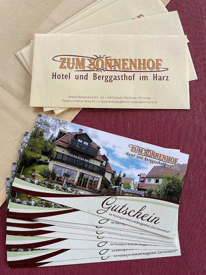 Aktuelle Angebote Hotel Sonnenhof